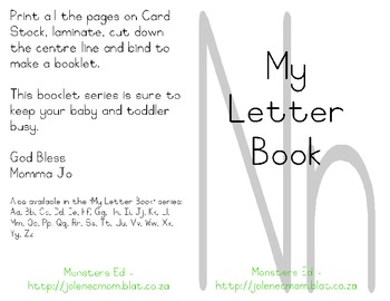 My Letter Book Series:  Letter N