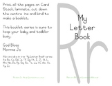My Letter Book Series:  Letter R