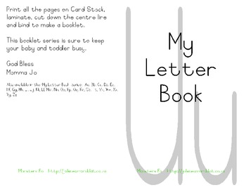 My Letter Book Series:  Letter U