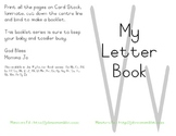My Letter Book Series:  Letter V