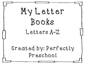 My Letter Books A-Z