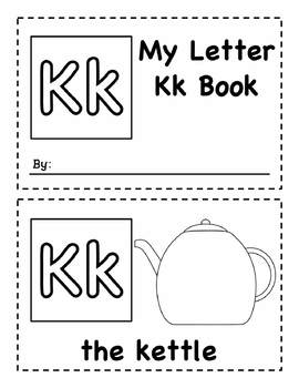 My Letter Books Kk-Oo - Easy Readers