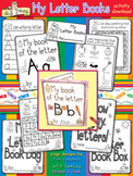 My Letter Books Learning Activity Download