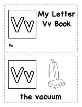 My Letter Books Uu-Zz - Easy Readers
