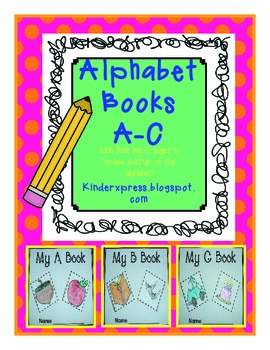 My Letter Books and Alphabet Fun