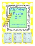 My Letter Books and Alphabet Fun G-I