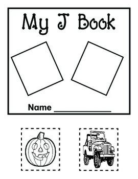My Letter Books and Alphabet Fun J-L