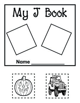 My Letter Books and Alphabet Fun J-L