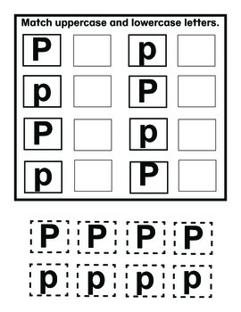 My Letter Books and Alphabet Fun P-R