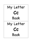 My Letter Cc Book