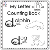 Letter 'D' Alphabet Counting Book