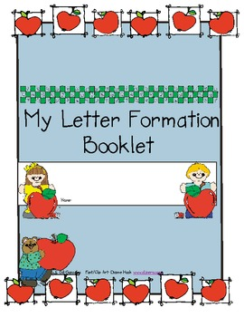 My Letter Formation Booklet