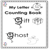 Letter 'G' Alphabet Counting Book