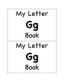 My Letter Gg Book