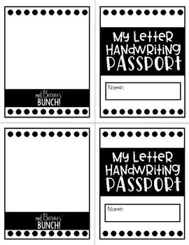 My Letter Handwriting Passport