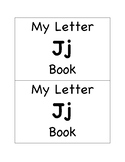 My Letter Jj Book