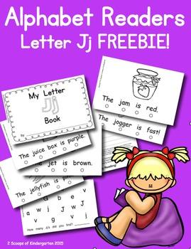 My Letter Jj Book Emergent Reader Freebie!