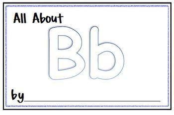 My Letter Journal - B