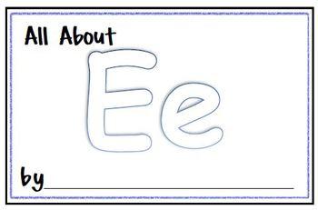 My Letter Journal - E