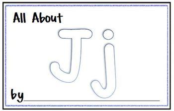 My Letter Journal - J