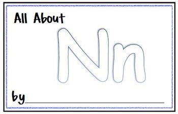 My Letter Journal - N
