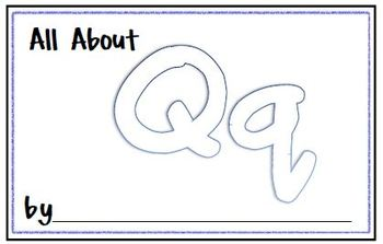 My Letter Journal - Q