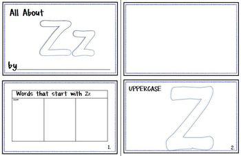 My Letter Journal - Z
