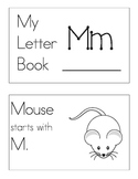 My Letter M Book