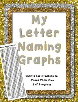 My Letter Naming Fluency Graph DIBELS Self Assessment Tracking LNF