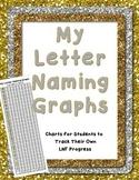 My Letter Naming Fluency Graph DIBELS Self Assessment Trac