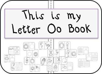 My Letter Oo Book