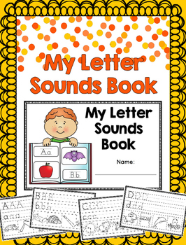 My Letter Sounds Book