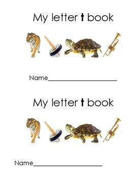 My Letter t Book
