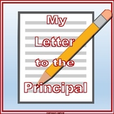 My Letter to the Principal-FREEBIE
