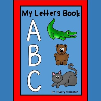 My Letters Book (A-Z)