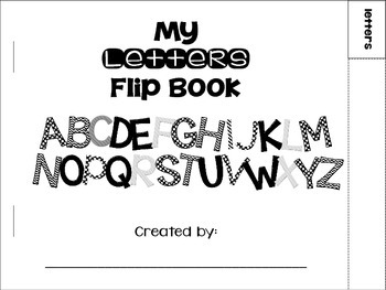 My Letters Flip Book {A-Z}