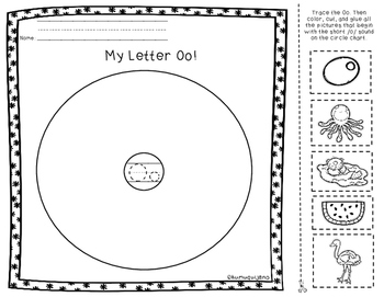 My Letters of the Alphabet Packet
