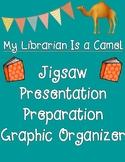 My Librarian Is a Camel Jigsaw Presentation Preparation Graphic Organizer