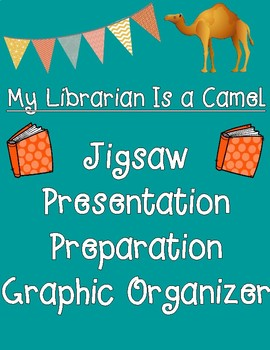 My Librarian Is a Camel Jigsaw Presentation Preparation Graphic Organizer