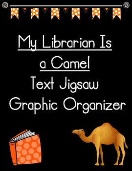 Jigsaw graphic organizer teaching resources teachers pay teachers my librarian is a camel text jigsaw recording form graphic organizer fandeluxe Gallery