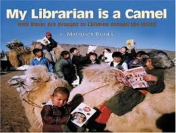 My Librarian Is a Camel by Margriet Ruurs PowerPoint and Printables Bundle