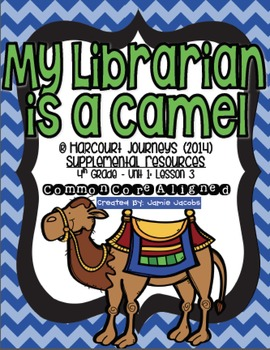 Librarian teaching resources teachers pay teachers my librarian is a camel journeys 4th grade supplemental materials fandeluxe Gallery
