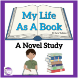 My Life As A Book  Novel Study  by Janet Tashjian
