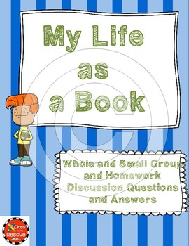 My Life as a Book Discussion Questions and Answers