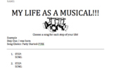 My Life as a Musical!