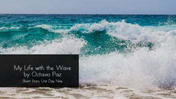 My Life with the Wave by Octavio Paz Lesson Plan (1-2 Class Periods)