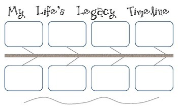 My Life's Legacy Timeline