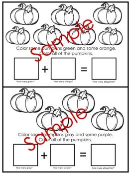 My Little Addition Book Of Pumpkins