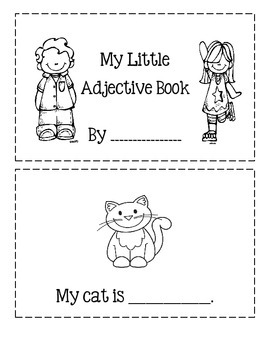 My Little Adjective Book