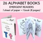 #betterthanchocolate My Little Alphabet Books - Emergent Alphabet Readers